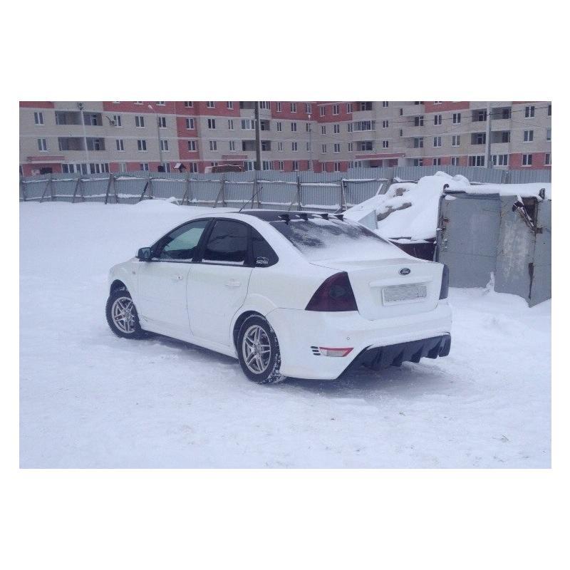 Задний бампер RS Седан